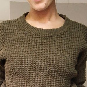Madewell olive sweater size small